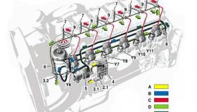 Двигатель Мерседес.